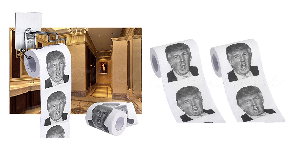 trump toilettenpapier - Geschenkideen für Muslime
