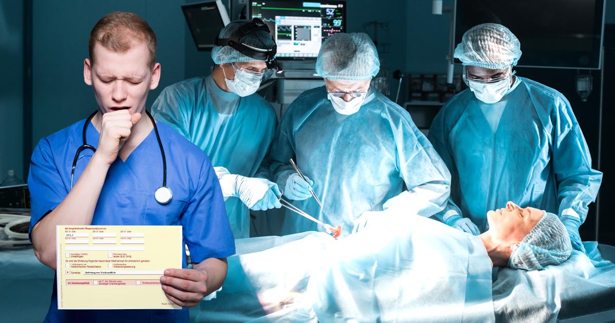 Noktara - Querdenkender Arzt hat Attest, das ihm erlaubt ohne Maske zu operieren - Maskenverweigerer
