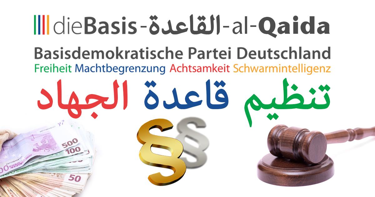 Noktara - Querdenker-Partei dieBasis wegen Markenrechtsverletzung von al-Qaida verklagt