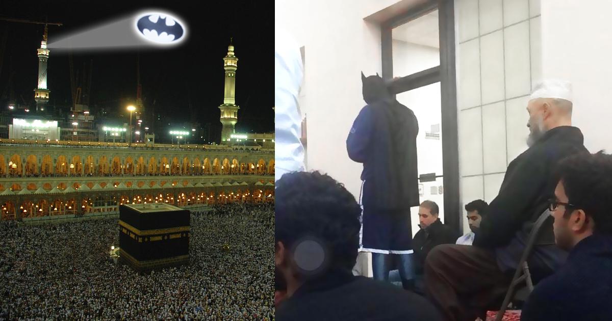 RIP: Batman bei eigenem Janaza-Gebet gesichtet