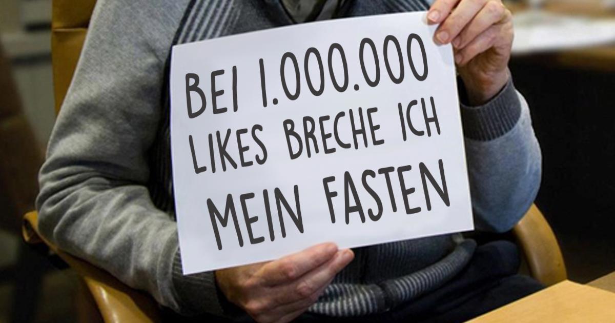 Ramadan-Challenge: Bei 1 Millionen Likes Schluss mit Fasten