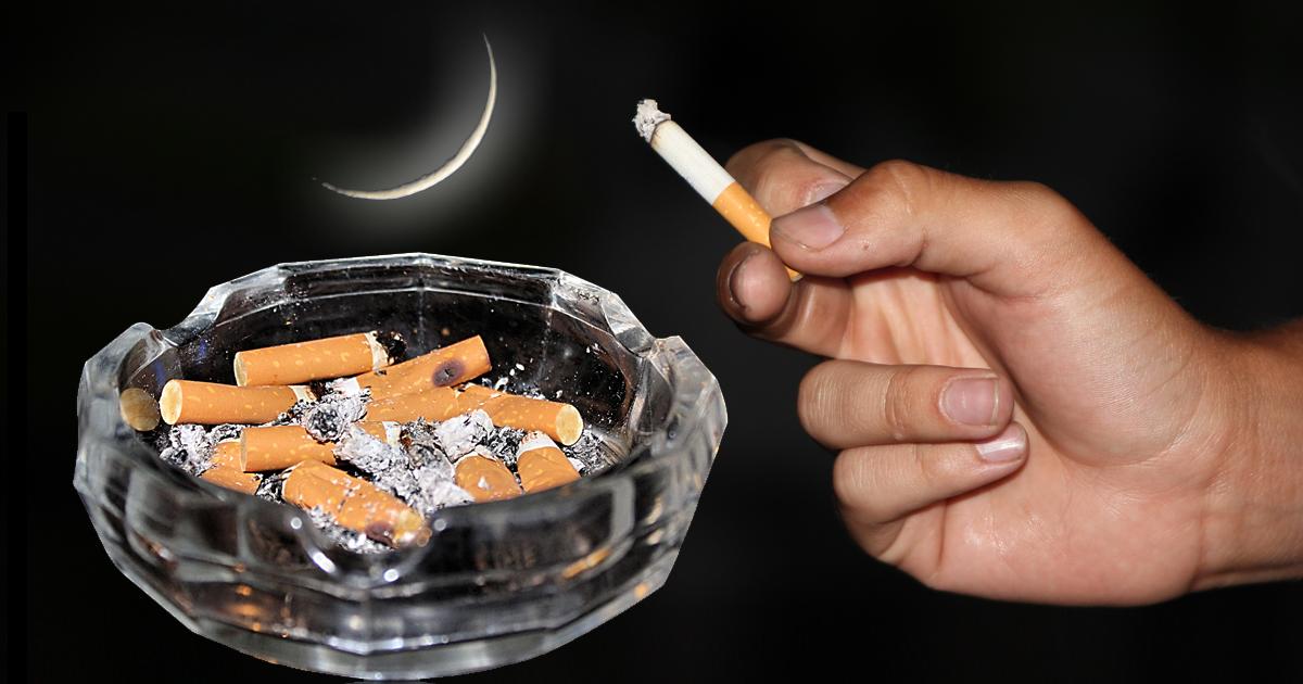 Ramadan: Muslim raucht noch schnell 30 Zigaretten im Voraus