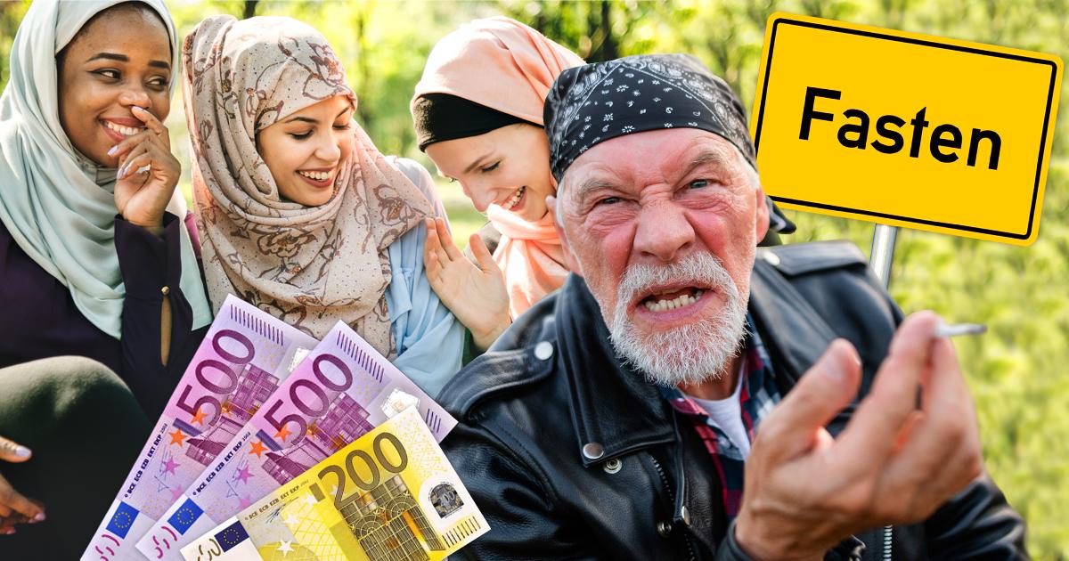 Noktara - Reichsbürger muss 1200 Euro Strafe wegen Hasskommentar bezahlen - Reaktion auf Essen wegen Ramadan zu Fasten umbenannt