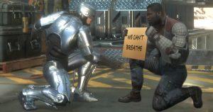 Noktara - RoboCop solidarisiert sich in Mortal Kombat mit friedlichen Demonstranten