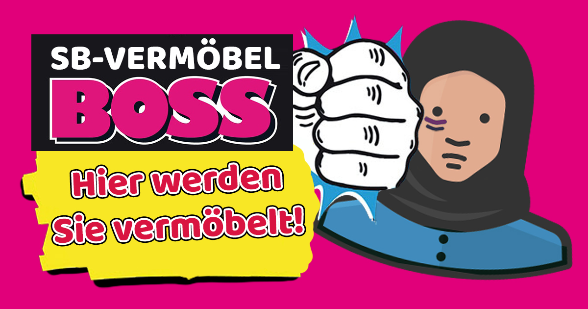 Noktara - SB-Möbel BOSS wird zu SB-Vermöbel BOSS - Hier werden Sie vermöbelt- Neues Logo