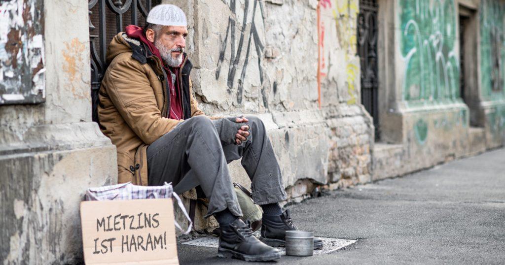 Noktara - Salafist lebt auf der Straße, weil Mietzins haram ist