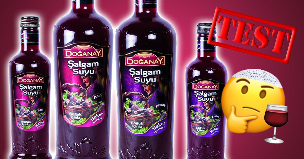 Noktara - Salgam Suyu - So schmeckt der türkische Steckrübensaft