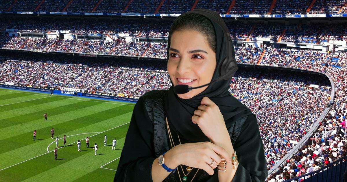 Noktara - Saudi-Arabien - Erste WM-Kommentatorin mit Kopftuch