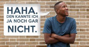 Noktara - Schwarzer lacht über rassistischen Witz, den er garantiert noch nie gehört hat
