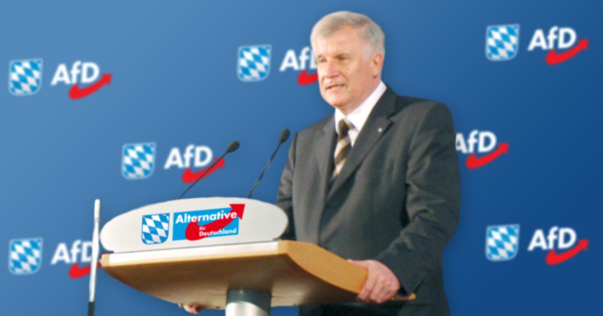 Noktara - Seehofer wechselt nach lausiger Bayernwahl zur AfD