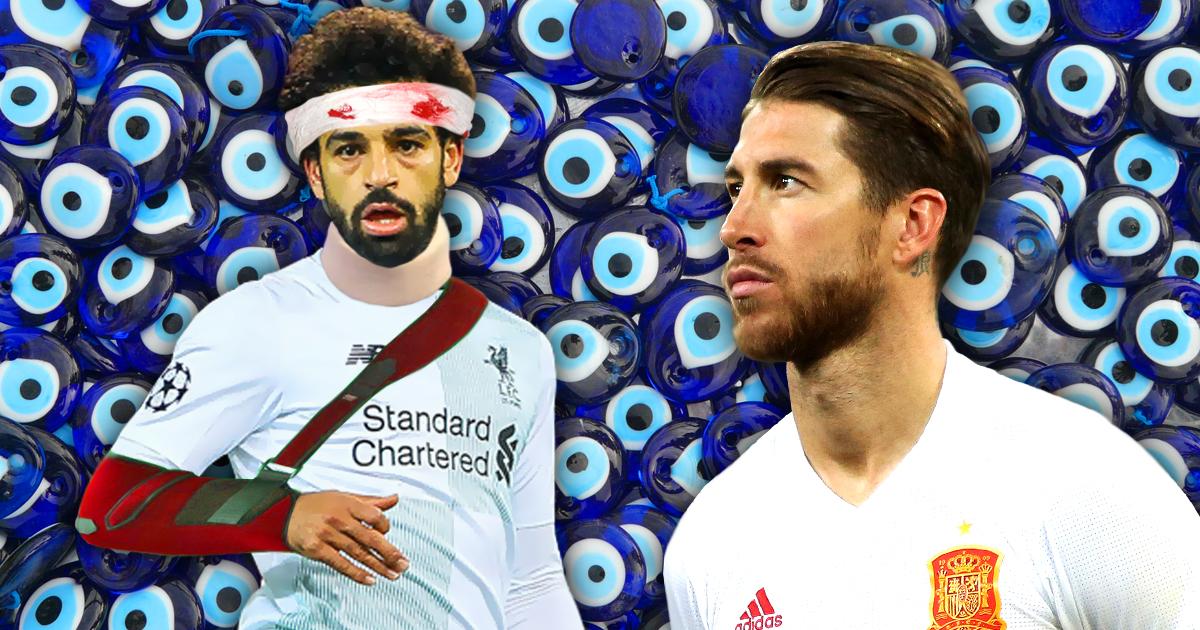 Noktara - Sergio Ramos macht Auge gegen Mo Salah