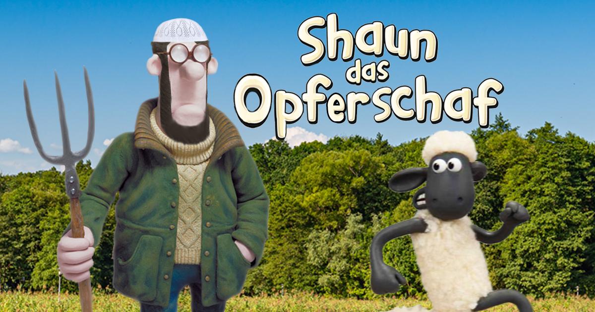 Noktara - Shaun das Opferschaf- Islamisches TV-Special im Kinderprogramm - Muslimischer Bauer
