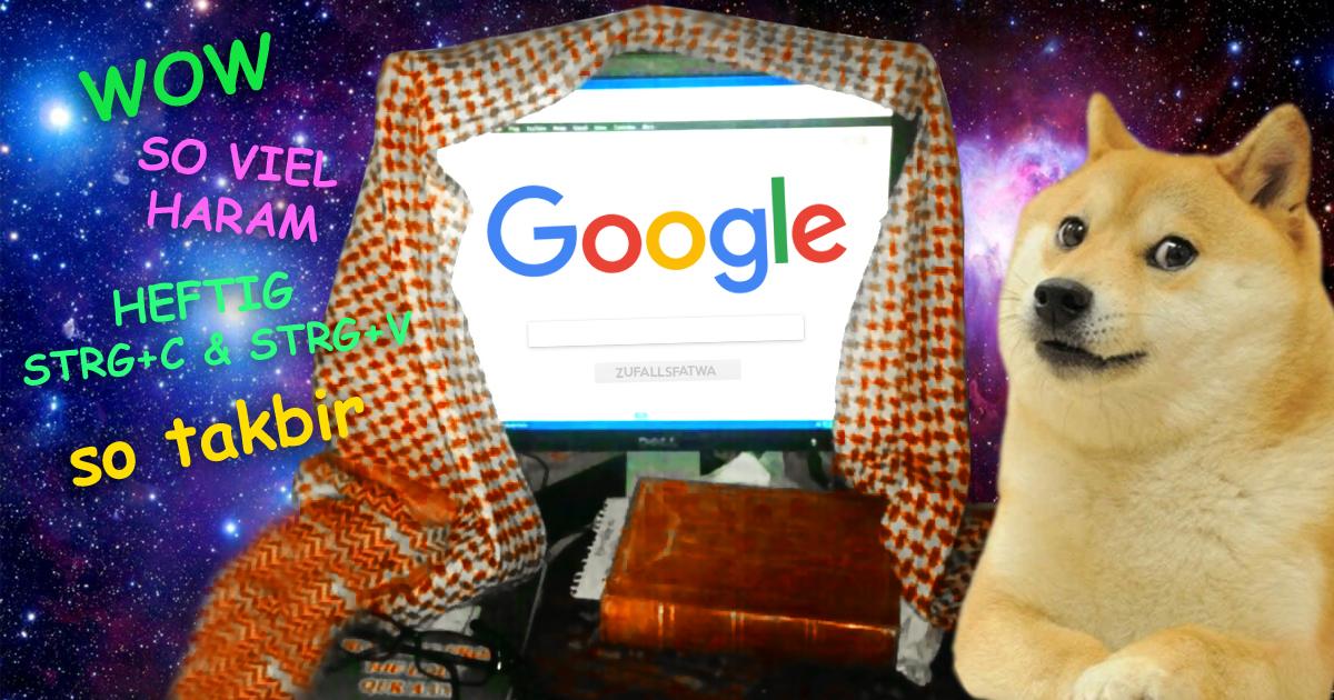 Sheikh Google erklärt ein für alle Mal alles für HARAM!