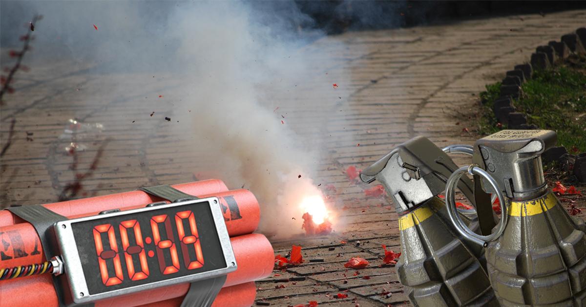 Silvester: Bester Zeitpunkt für Bombenanschläge