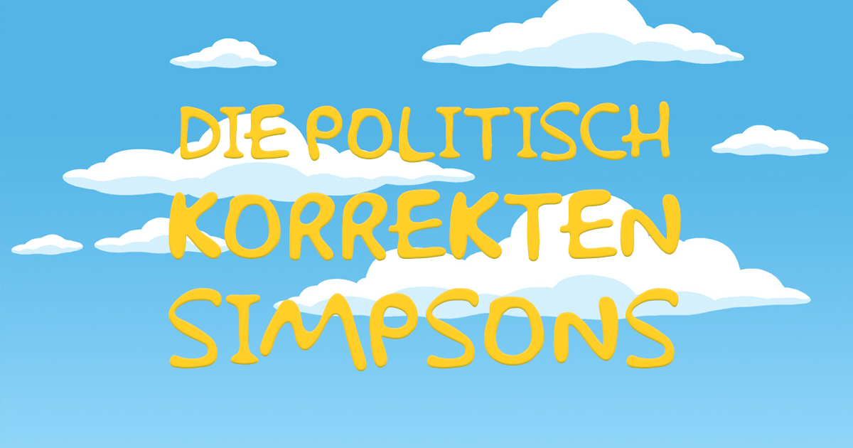 Noktara - Simpsons-Macher streichen alle rassistischen Figuren aus Springfield - Die politisch korrekten Simpsons Intro