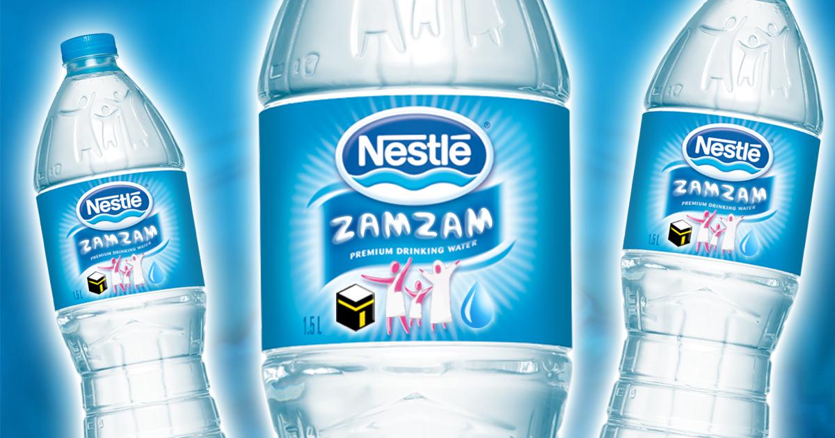 Skandal: Nestlé zapft ZAMZAM-Quelle an