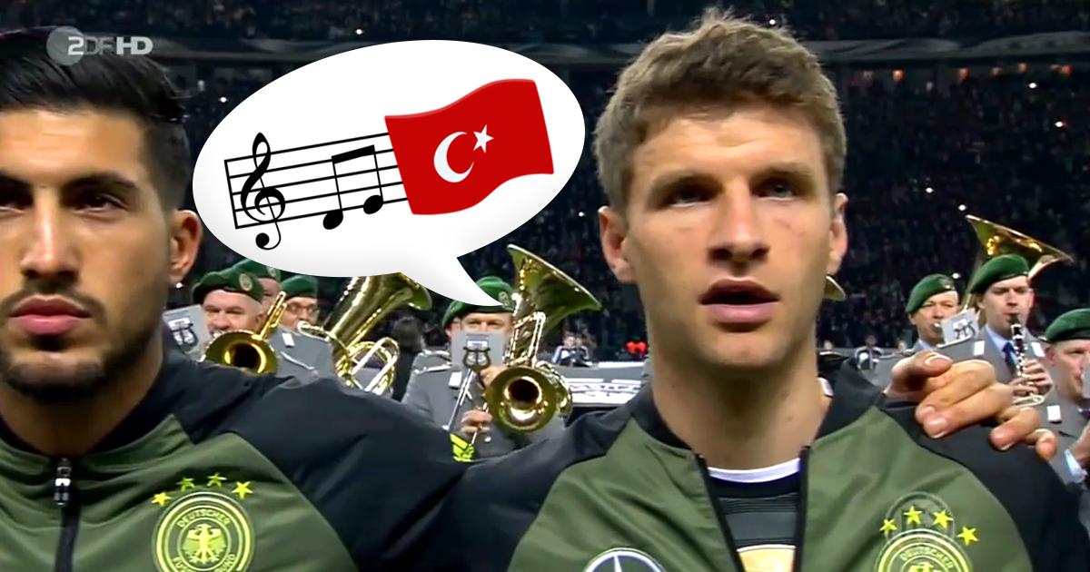 Noktara - Solidarität für Özil - Deutschland singt die türkische Nationalhymne