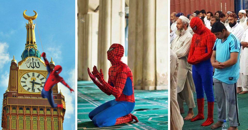 Noktara - Spiderman in Mekka gesichtet- Ist er etwa zum Muslim geworden?