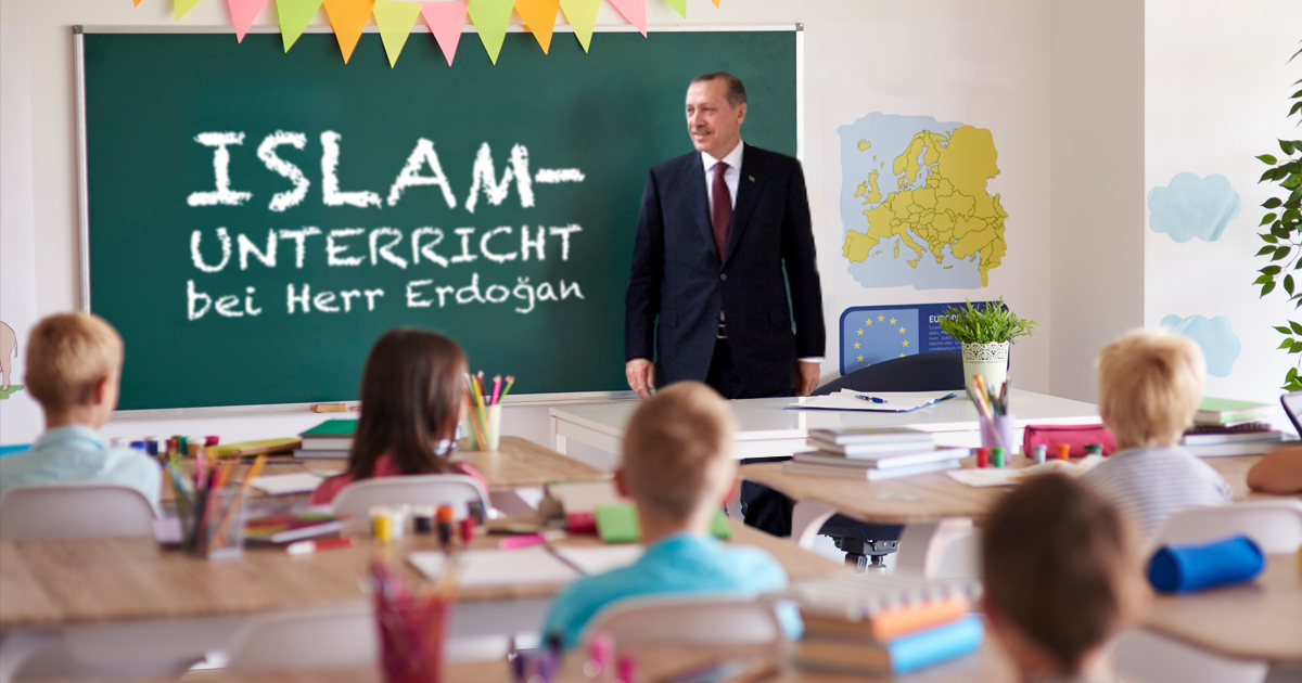 Noktara - Staatlicher Islamunterricht - DITIB stellt Erdogan als Lehrer an