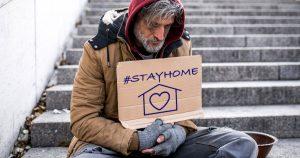 Noktara - #StayHome- Durch Corona-Krise obdachlos gewordener Mann würde gerne mitmachen