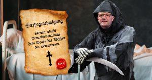 Noktara - Sterbegenehmigung- Tod nur noch mit Erlaubnis von Jens Spahn