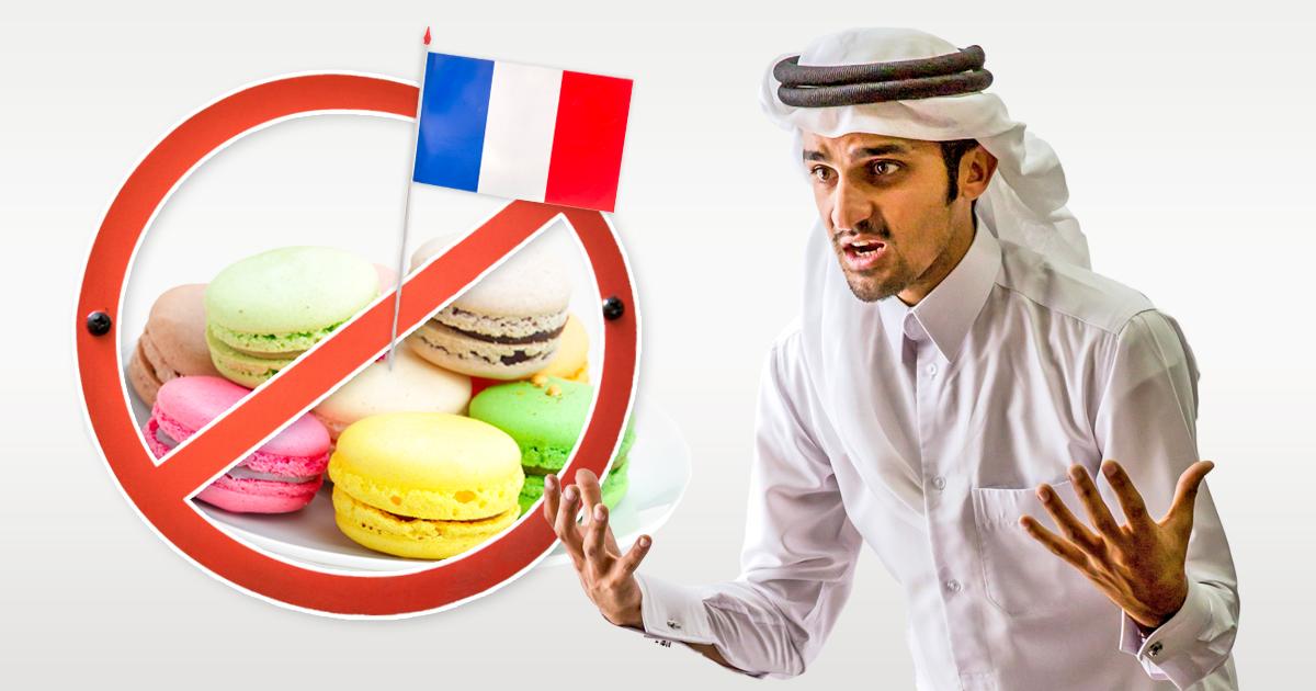 Noktara - Stop Macaron- Wütende Muslime boykottieren französisches Gebäck