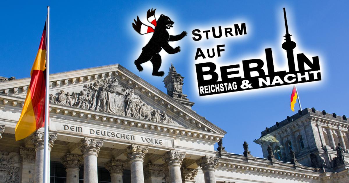 Noktara - Sturm auf Berlin - Reichstag und Nacht - Demokratie wird zur Reality Soap