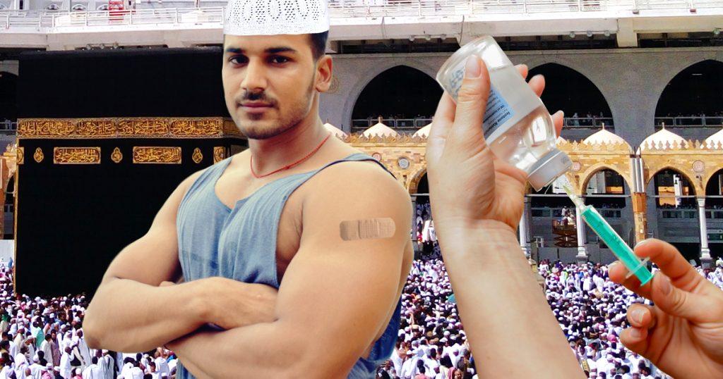 Noktara - Sunnitische Mekkapilger lassen sich gegen Schiiten impfen