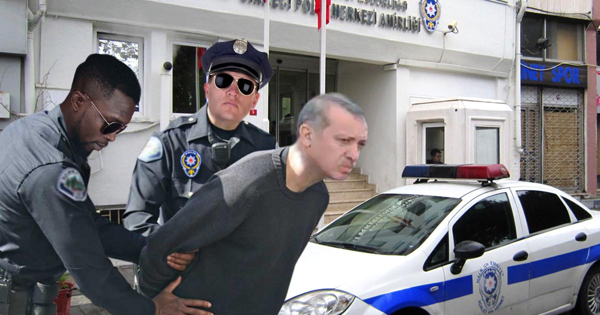 Noktara - Türkei - Erdogan bei Einreise wegen Terrorverdachts verhaftet