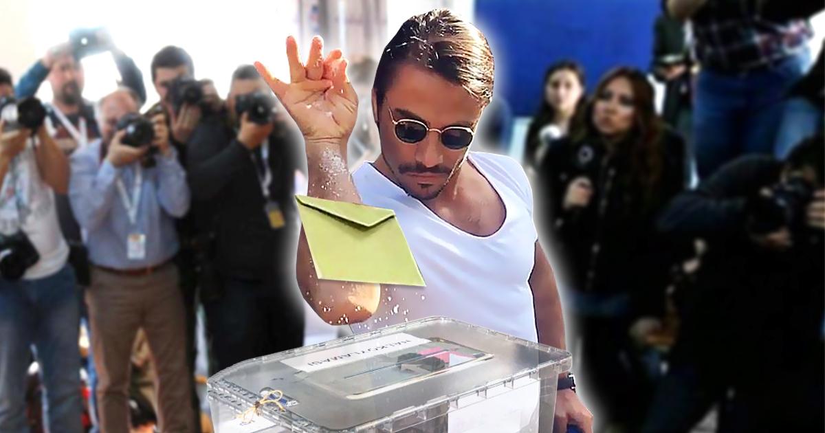 Türkei-Referendum: Salt Bae stiehlt Erdogan die Show