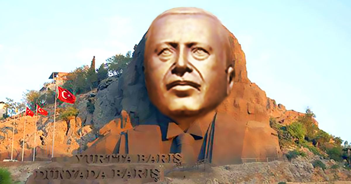 Türkei lässt Atatürk Denkmäler durch Erdogan ersetzen
