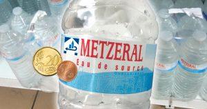 Türkische Supermärkte erheben Pfand auf METZERAL-Wasser