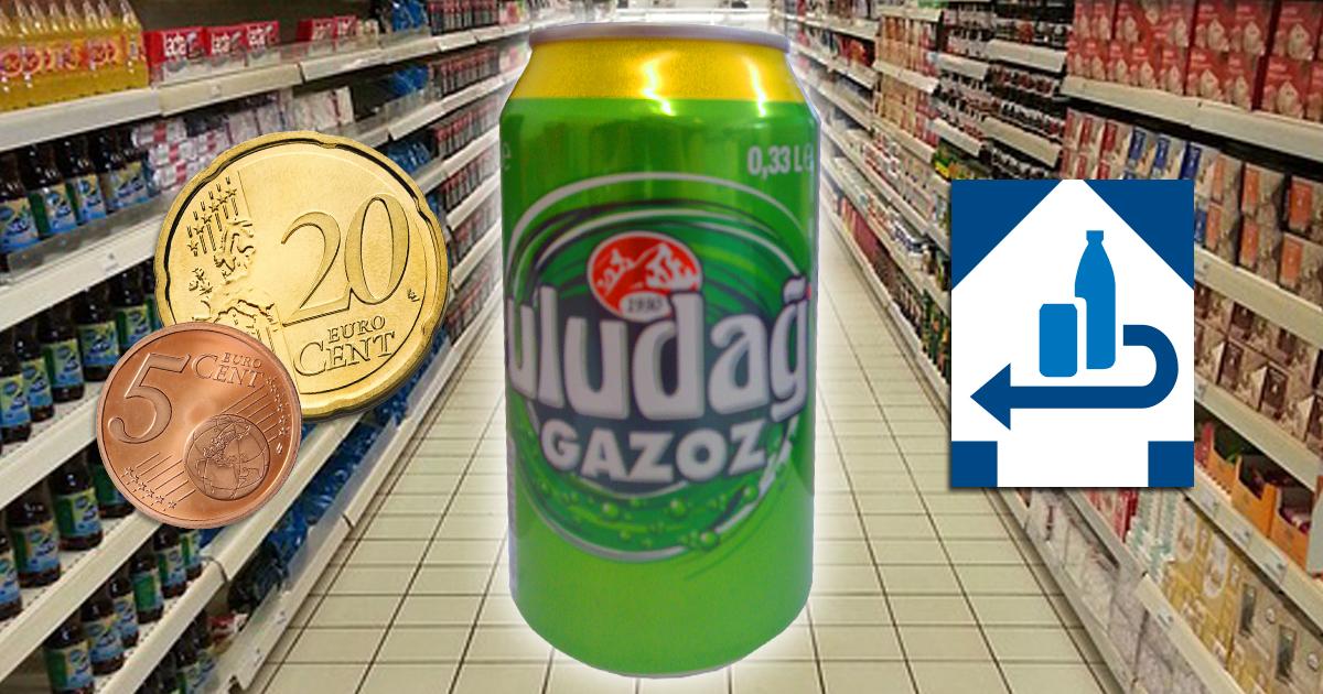 Noktara - Türkische Supermärkte erheben 25 Cent Pfand auf Uludag