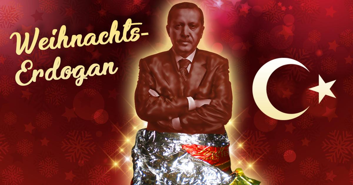 Türkische Weihnachten: Schoko-Erdogan ersetzt Weihnachtsmann