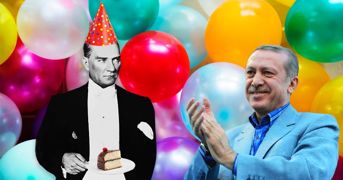 Noktara - Türkischer Vatertag - Erdogan gratuliert dem Vater der Türken