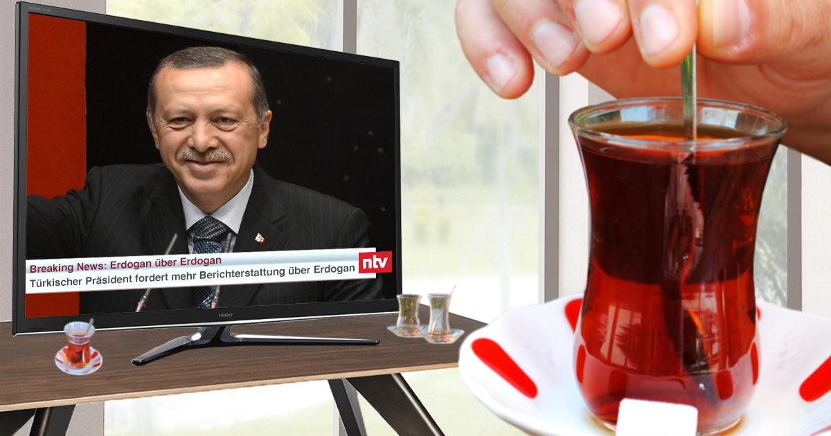Noktara - Türkisches Trinkspiel - Ein Çay, sobald deutsche Medien Erdogan nennen