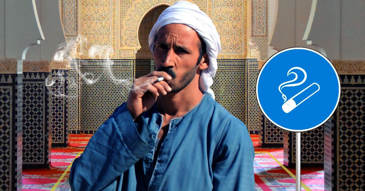 Noktara - Tabakmoschee - Raucherbereich für qualmende Muslime
