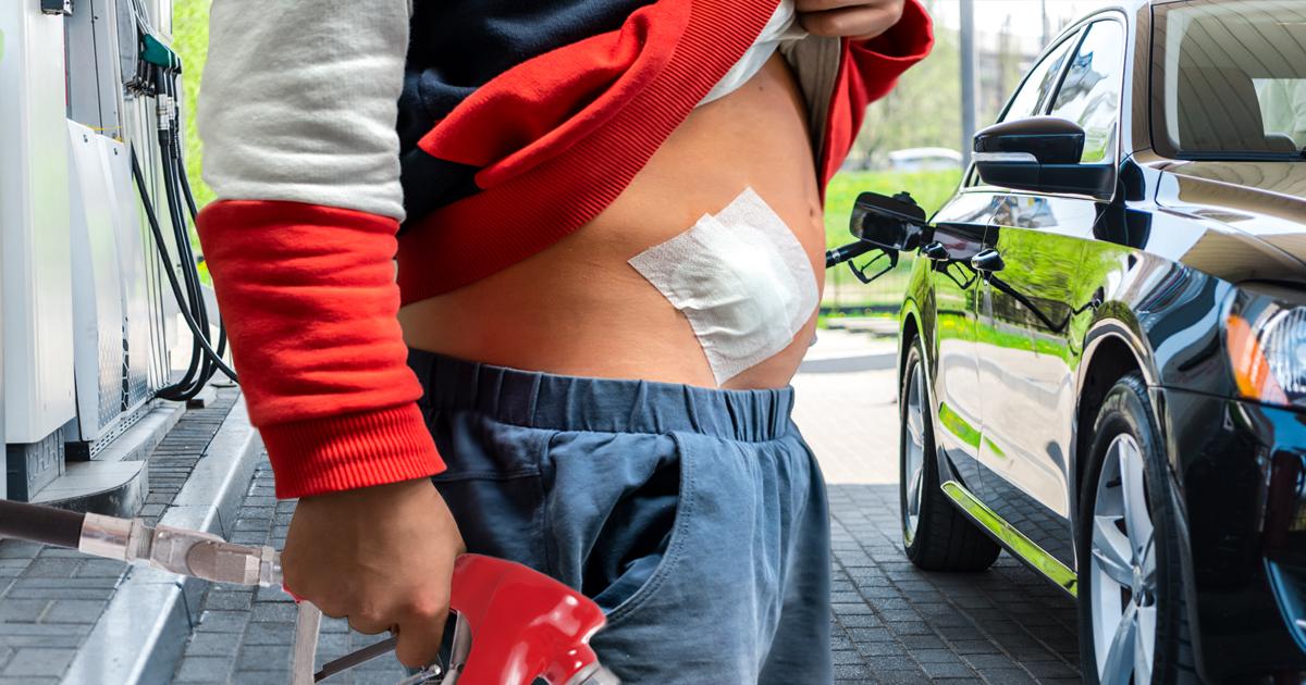 Noktara - Tankstellen akzeptieren jetzt auch Organe als Zahlungsmittel