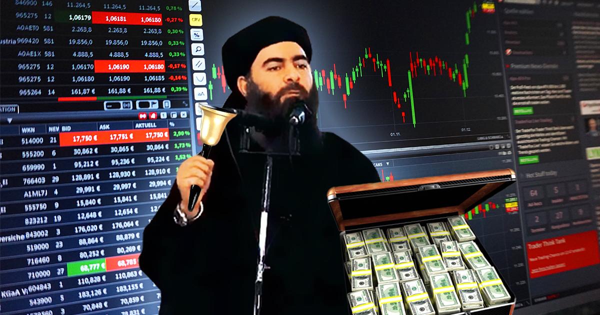 Terroraktien: IS geht an die Börse - Jetzt Aktien sichern!