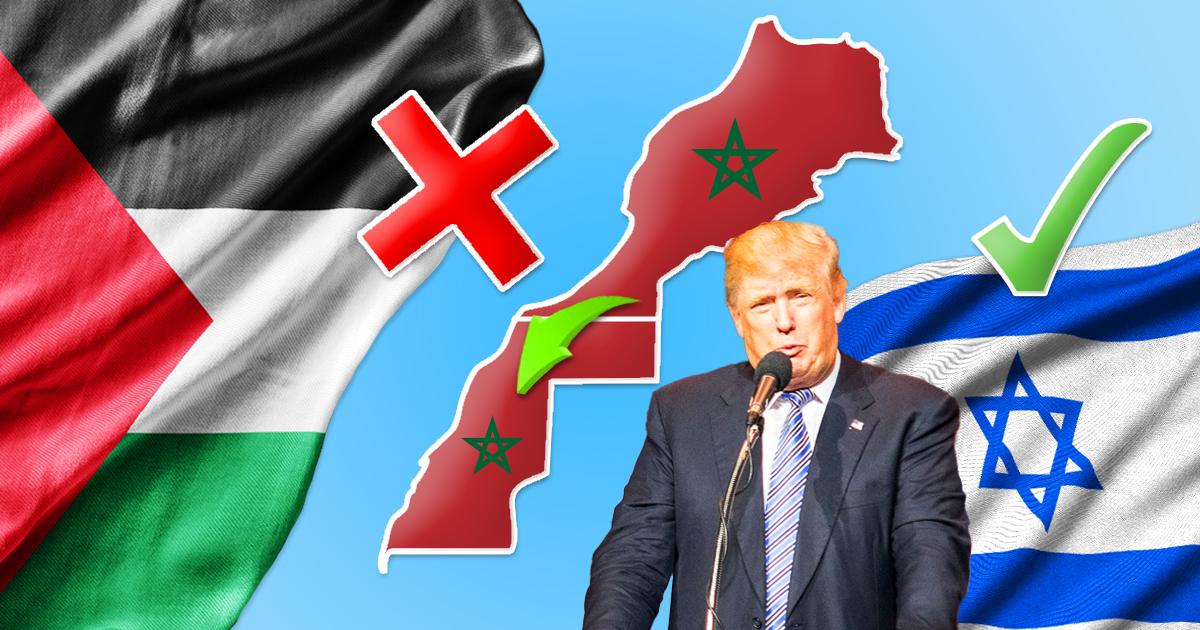 Noktara - Trump legt nach - Marokko erkennt Souveränität Palästinas ab - Israel und Palästina