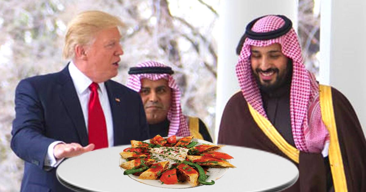 Noktara - Trump nach Geschäftsessen - Dieses Kashoggi-Kebab war sehr lecker