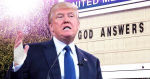 Noktara - Trump zieht sich bei Bibel-Fototermin Verbrennungen an der Hand zu