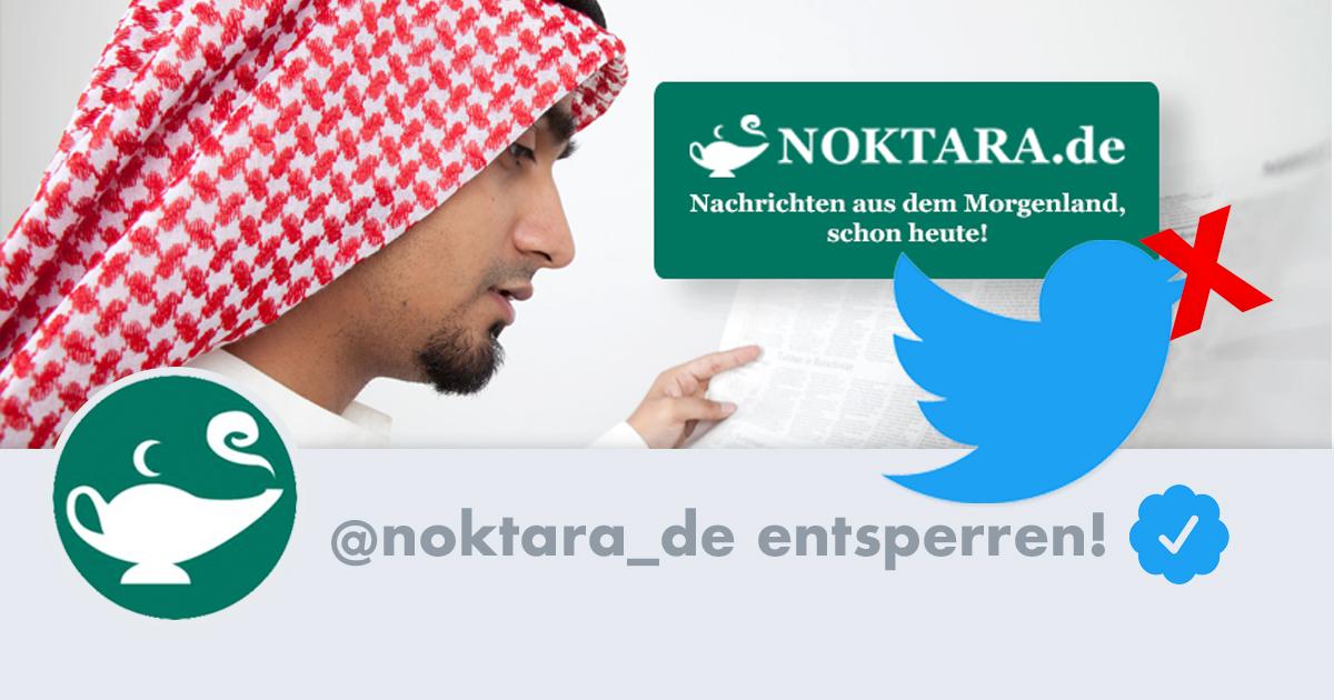 Noktara - Twittersperre - Unterstütze die Petition zur Entsperrung von Noktara