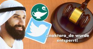 Noktara - Twittersperre aufgehoben - Danke für eure Solidarität