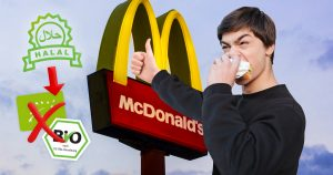 Noktara - Typ, der noch nie Bio gegessen hat, feiert Urteil gegen Halal-Fleisch