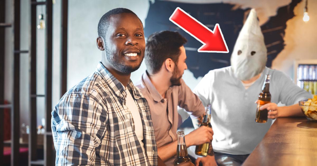 Noktara - Typ kann gar kein Rassist sein, weil er einen schwarzen Freund hat