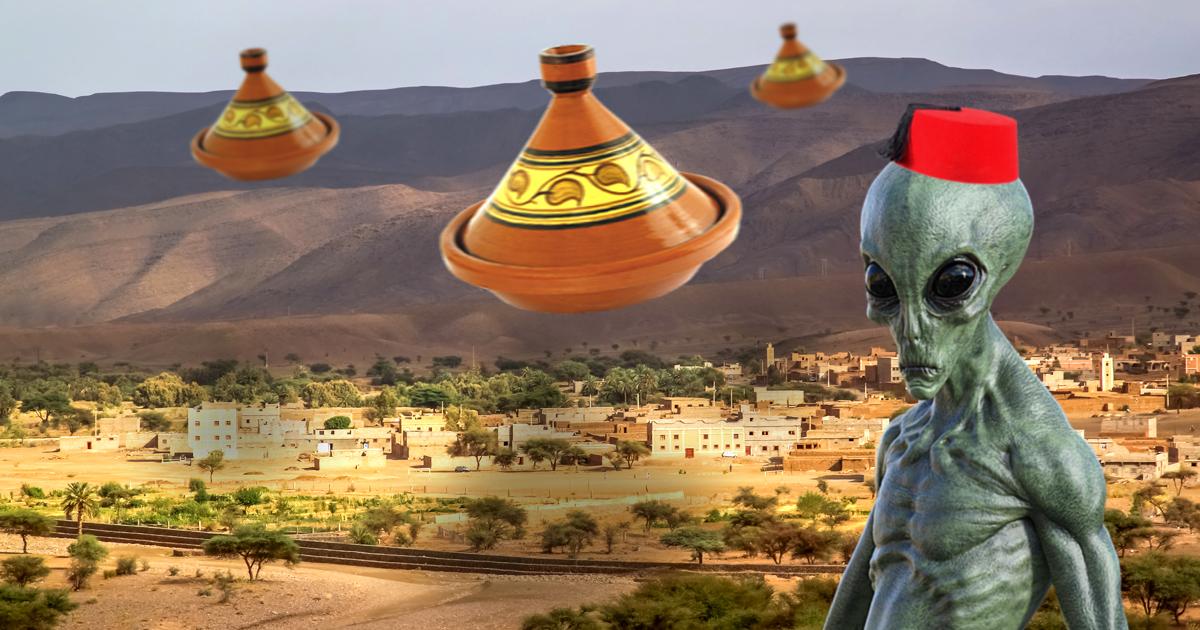 Noktara - UFO-Sichtung - Fliegende Tajines über Marokko aufgetaucht