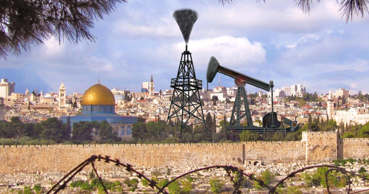 USA findet plötzlich Erdöl in Jerusalem
