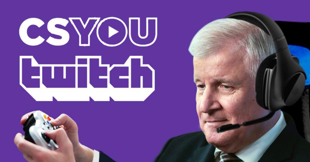 Noktara - Um Gamer-Szene in den Blick zu nehmen- Seehofer startet Twitch-Kanal