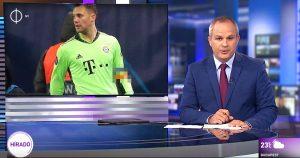 Noktara - Ungarisches Staatsfernsehen verpixelt Neuers Regenbogen-Armbinde